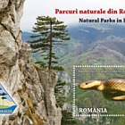 Natural Parks in Romania - (Perforated Souvenir Sheet)