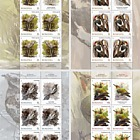 "Masters of Camouflage (one of the stamps has the image of the subject reproduced ""in mirror"")"