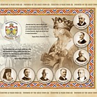 Founders of the Great Union (II) - imperforated souvenir sheet