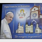 2019 Romania - Vatican Joint Issue, The Apostolic Visit of Pope Francis to Romania - (A Pack Containing the Two S/S of the Joint Issue)
