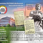 University POLITEHNICA of Bucharest, two centuries of education and innovation