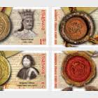 Día Del Sello Rumano - Sellos De Los Gobernantes Rumanos (II)