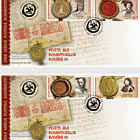 Romanian Postage Stamp Day - Seals Of The Romanian Rulers (II)