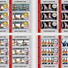 Olympic Medals 2020 - Sheets X 5 Stamps + 1 Label