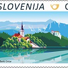Definitives 2017 - Bled C (Roll of 50 Stamps)