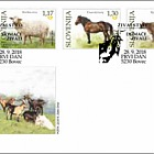 Fauna 2018 - Domestic Animals - (FDC Set)