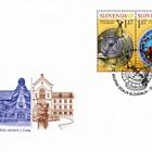 Joint issue Slovenia-Slovakia - Sundial, Astronomical Clock