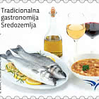 Euromed Postal - Traditionelle Gastronomie des Mittelmeers - D