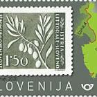 75e Anniversaire Des Premiers Timbres-poste Slovènes Pour Le Littoral Slovène Et L'istrie - B