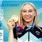 Médaille D'or Olympique Pour La Slovénie