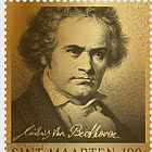 Golden Stamp -  Ludwig van Beethoven