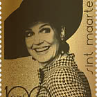Gold Stamp - Queen Maxima