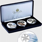 Snowflake Bear Trilogy Coin Collection