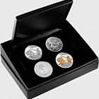 Poseidon Typeset Silver Coins
