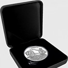 Poseidon High Relief Antique Silver Tokelau 1oz Coin