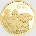 Year of the Dog 2018 -0.5g Pure Gold