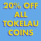 20% Discount on ALL Tokelau products! - BLACK FRIDAY OFFER