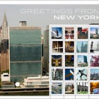 2015 Greetings from New York (Personalised Sheet)