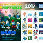 International Day of Happiness- Smurfs- (Vienna)