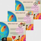 (3 Offices) - 2018 World Health Day - (Souvenir Card Set)
