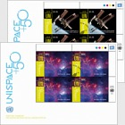 (New York) - UNISPACE+50 - (FDC Block of 4)