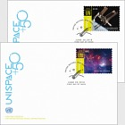 (New York) - UNISPACE+50 - (FDC Single Stamp)