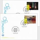 (Geneva) - UNISPACE+50 - (FDC Single Stamp)