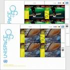 (Vienna) - UNISPACE+50 - (FDC Block of 4)