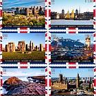 (3 Offices) - 2018 WORLD HERITAGE – United Kingdom - (Set Mint)