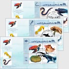(3 Offices) - Endangered Species 2019 - FDC Block of 4
