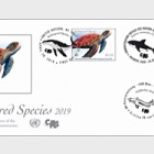 (3 Offices) - Endangered Species 2019 - FDC Silk