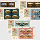 (3 Offices) - 2019 World Heritage, Cuba - FDC Block of 4