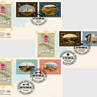 (3 Offices) - 2019 World Heritage, Cuba - FDC Set