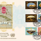 (3 Offices) - 2019 World Heritage, Cuba - FDC Triple