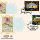 (New York) - 2019 World Heritage, Cuba - FDC Single Stamp