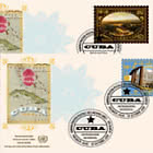 (Geneva) - 2019 World Heritage, Cuba - FDC Single Stamp