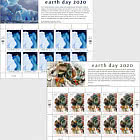 (New York) - Earth Day 2020 -  Sheet Mint