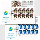 (New York) - Earth Day 2020 - FDC Sheet