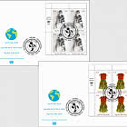 (Vienna) - Earth Day 2020 - FDC Block of 4