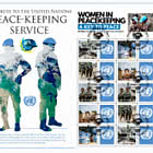 向联合国维持和平服务致敬