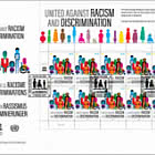 (New York) United Against Racism and Discrimination - FDC Sheet