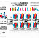 (Vienna) United Against Racism and Discrimination - FDC Sheet