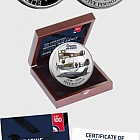 JERSEY - The RAF Centenary Silver Proof Five Pound Coin