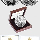 JERSEY - HRH Prince George's Fifth Birthday Silver Proof Five Pound Coin