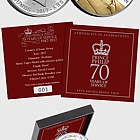 JERSEY - The Prince Philip 70 Years of Service £5 Coin