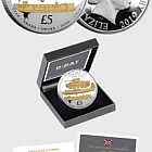 GUERNSEY - The D-Day 75th Anniversary Proof Five Pound