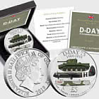 GUERNSEY - The D-Day 75th Anniversary Five Pound Coin