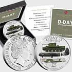 GUERNSEY - Fünf-Pfund-Münze zum 75-jährigen Jubiläum des D-Day
