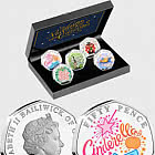 GUERNSEY - Christmas Pantomime Silver Proof 50p Set