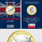 JERSEY - Red Arrows BU £2 Coin